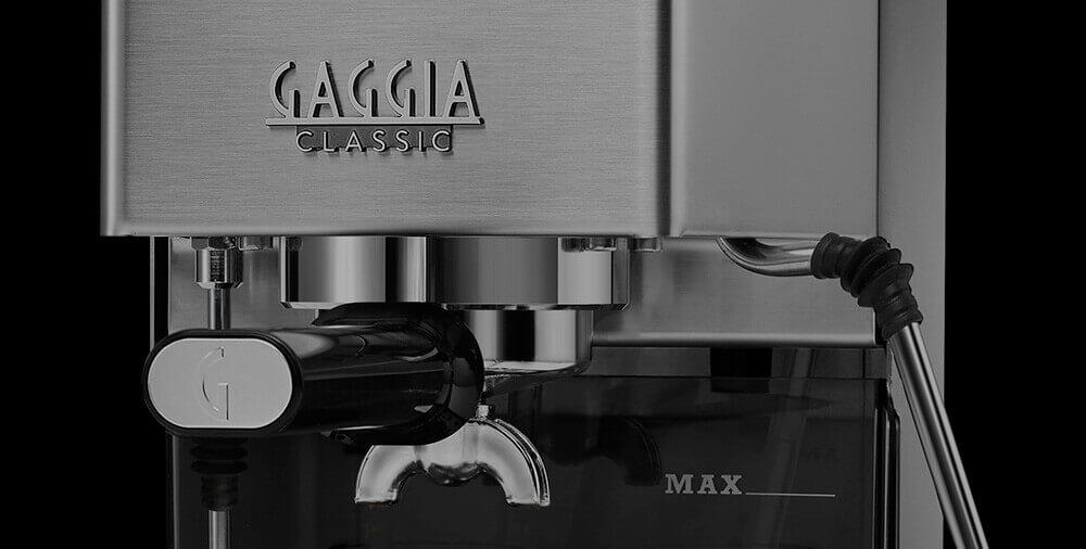 GAGGIA NEW CLASSIC THUNDER BLACK 230V ручка