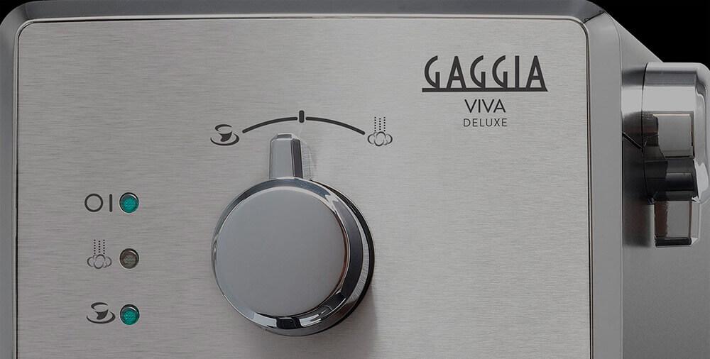 Кавоварка GAGGIA VIVA DELUXE BLACK панель керування