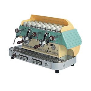 Кавоварка ELEKTRA Сlassic BARLUME V1 2GR Green Mosaic автомат
