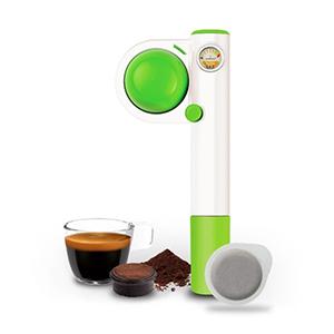 Еспресо-кавоварка Handpresso Wild Hybrid Green