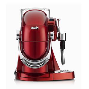Капсульна кавоварка Caffitaly Nautilus s06sh Red автомат
