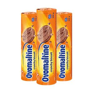 Бісквіт з шоколадом Ovomaltine 250g 20шт/ящ
