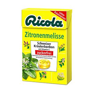 Льодяники Ricola Zitronnenmelisse (меліса) 50 г