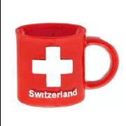 Магніт Чашка червона з хрестом CH / 72-1286: фото 2