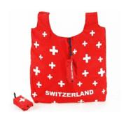 Сумка через плече червона з CH-Switzerland / 72-0299: фото 2