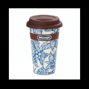 Керамічна термочашка Delonghi «BLU FLOWER»