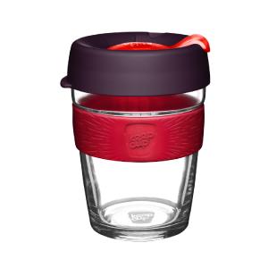 Чашка»KC»Medium» Brew Red Bells 340 мл