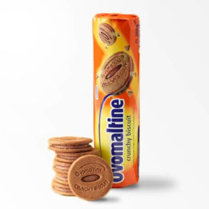 Бисквит с шоколадом Ovomaltine 250g 20шт/ящ