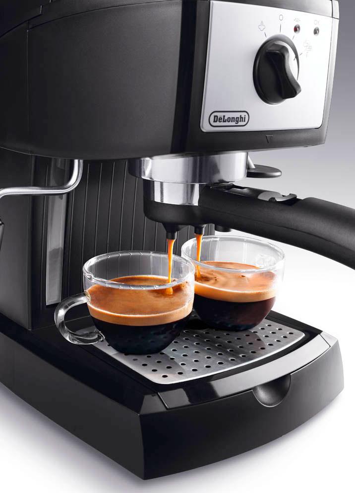 Кофеварка De`Longhi EC155.B ручка