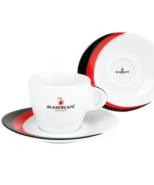 Сервиз Blasercafe Rosso Nero для капучино XL