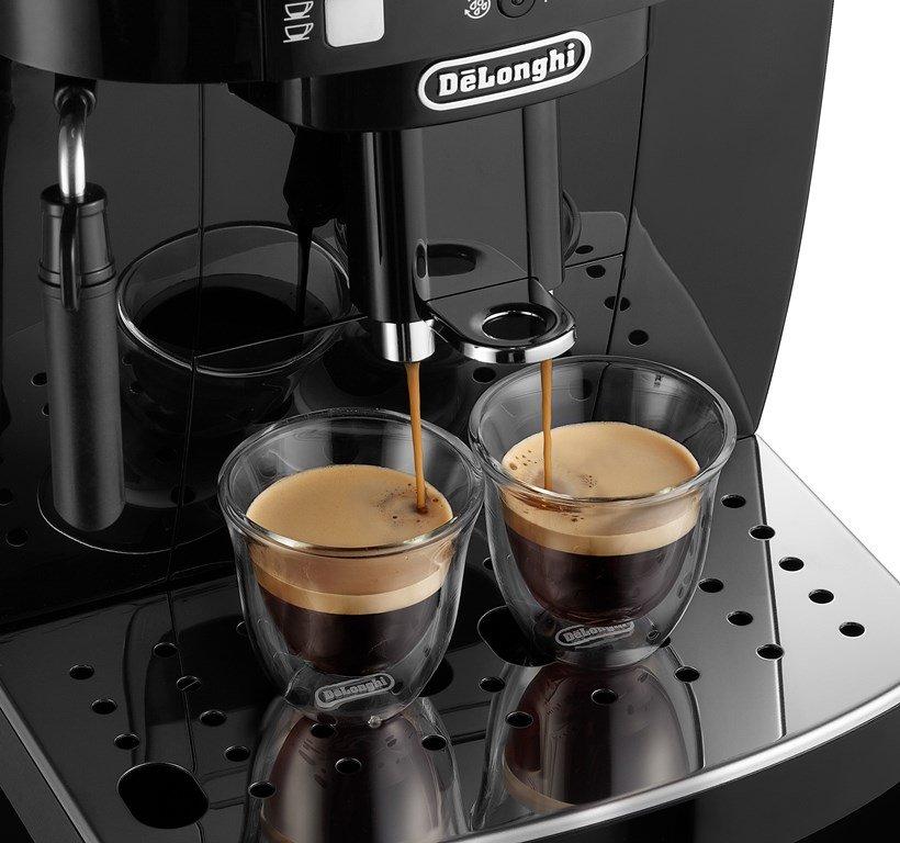 DeLonghi ECAM 21.117 SB Magnifica S приготовление кофе