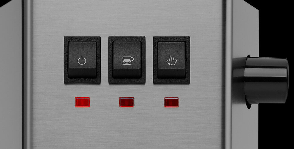 GAGGIA NEW CLASSIC INDUSTRIAL GREY кнопки управления