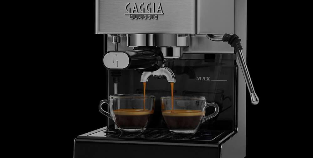 GAGGIA NEW CLASSIC SB SS двойное эспрессо