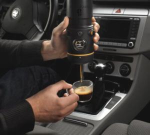 Портативная мини кофеварка