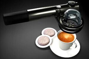 Ручная портативная кофеварка