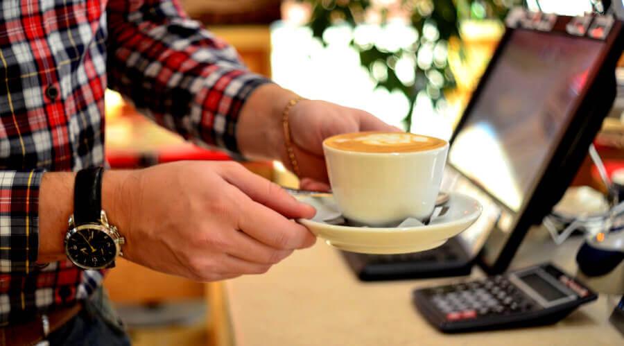 Чашка кофе Блейзер
