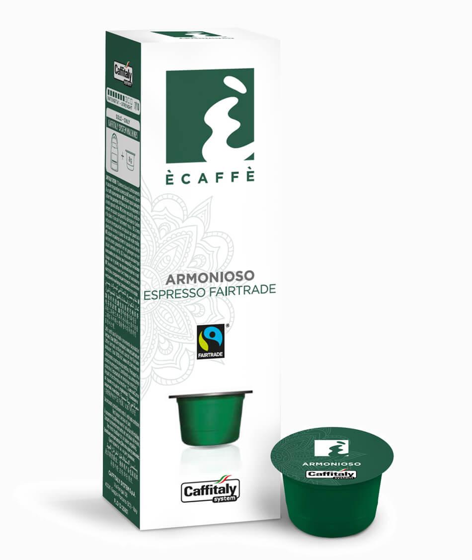 Кофе в капсулах  Caffitaly  Ecaffe Armonioso