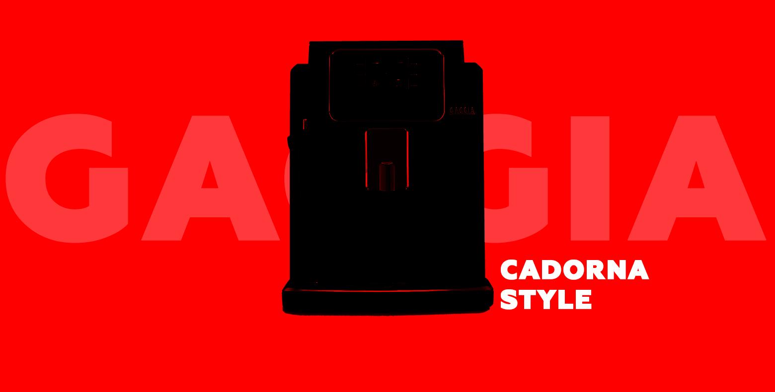 GAGGIA CADORNA STYLE серия кофемашин