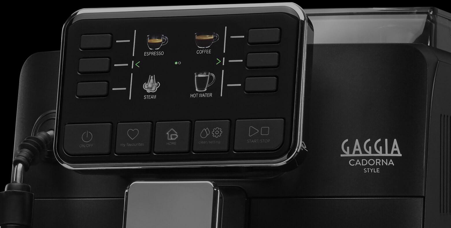 GAGGIA CADORNA STYLE BLACK панель управления