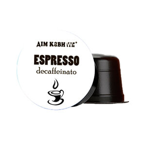 Кофе в капсулах Дом Кофе  «Espresso decaffeinato» Capsules