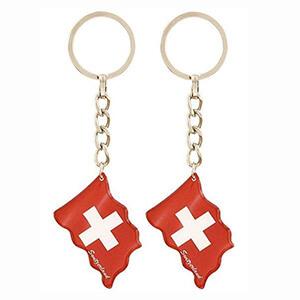 Брелок флаг Швейцарии