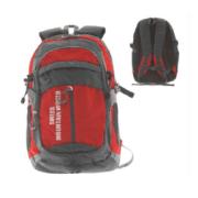 """Рюкзак нейлоновый красно-серый """"Швейцарский горный мир"""", 50x32x68см: фото 1"""