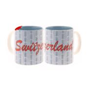 Чашка светло-голубая с эдельвейсом и надписью Швейцария: фото 2