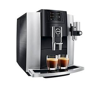 Кофеварка Jura E8 Platin