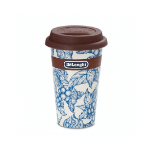 Керамическая термочашка Delonghi «BLU FLOWER»