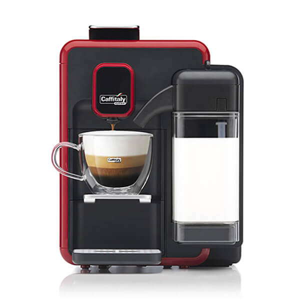 Caffitaly S22 Bianca Red Black 600 0