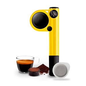 Кофеварка Handpresso Wild Hybrid Yellow